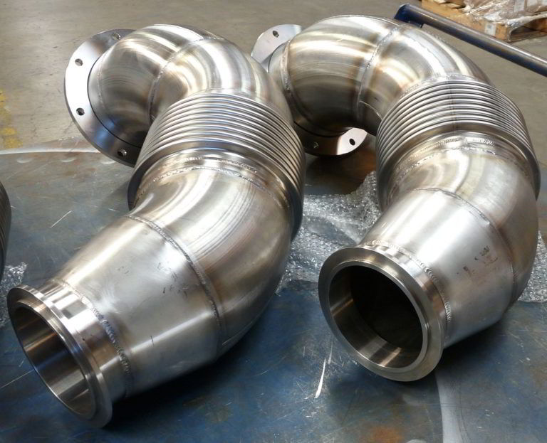 3 ply Custom Exhaust Bellows