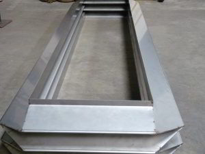 Rectangular metal Bellows