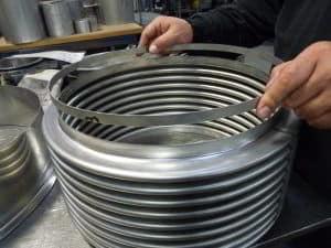 making metal bellows