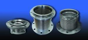 metal exhaust bellows